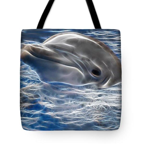 Hi Tote Bag by Marvin Blaine