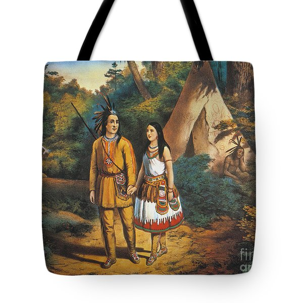 Hiawathas Wedding Tote Bag by Granger