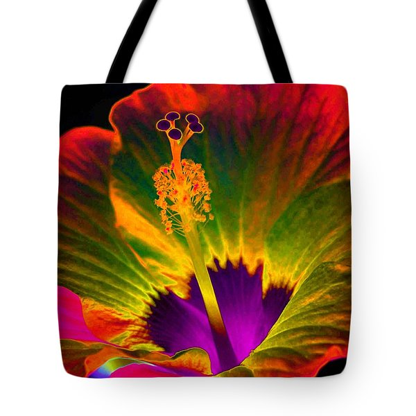 Hibiscus 01 - Summer's End - Photopower 3189 Tote Bag