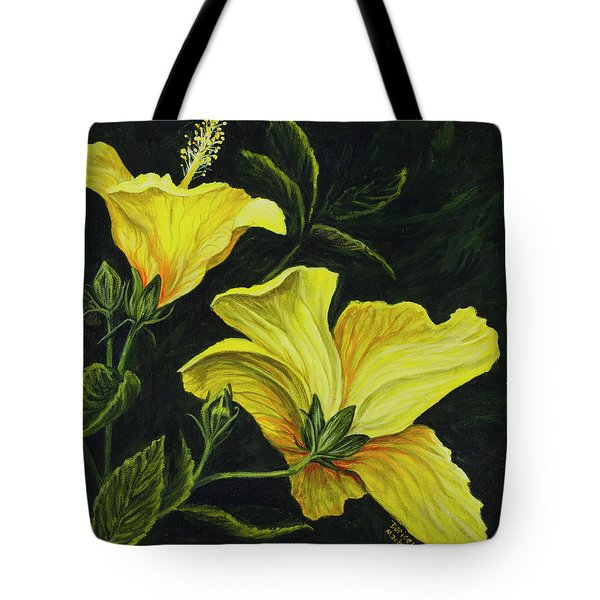 Hibiscus 2 Tote Bag