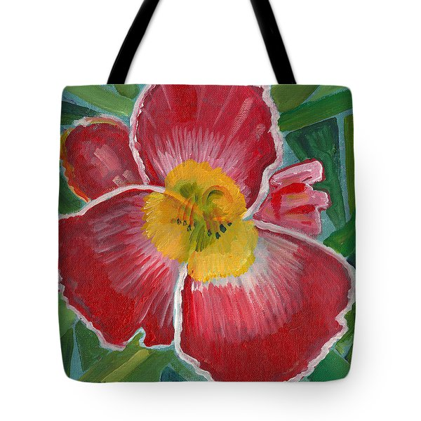 Hibiscus 3 Tote Bag by John Keaton