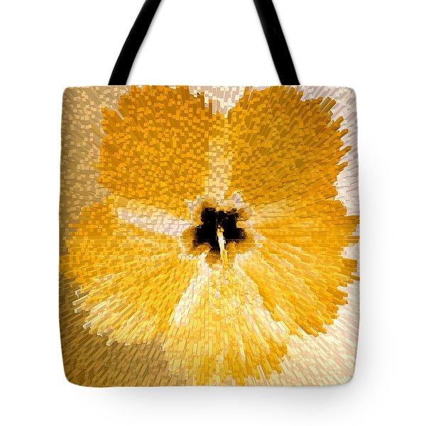 Hibiscus Explosion Tote Bag