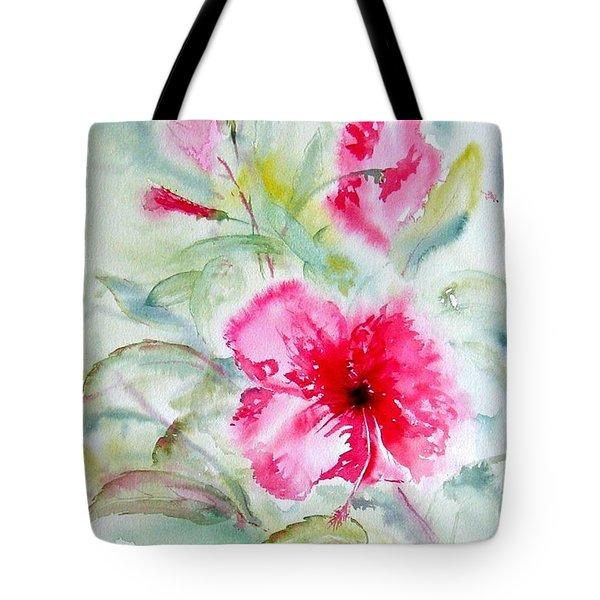 Hibiscus Fantasy Tote Bag