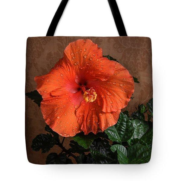 Hibiscus Fine Art Tote Bag