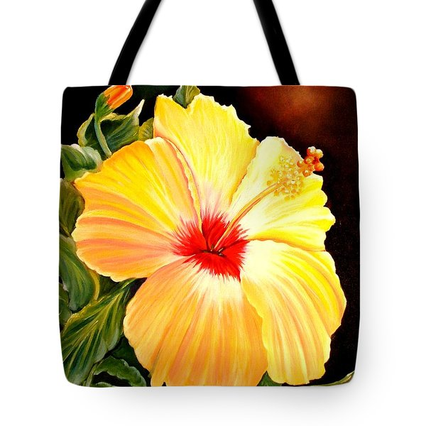 Hibiscus Glory Tote Bag