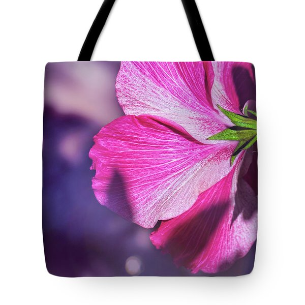 Hibiscus In The Shadows Tote Bag