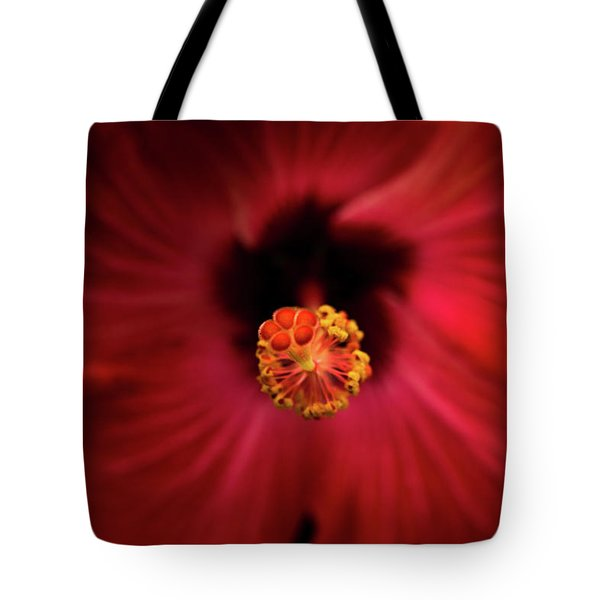 Hibiscus Tote Bag by Jay Stockhaus