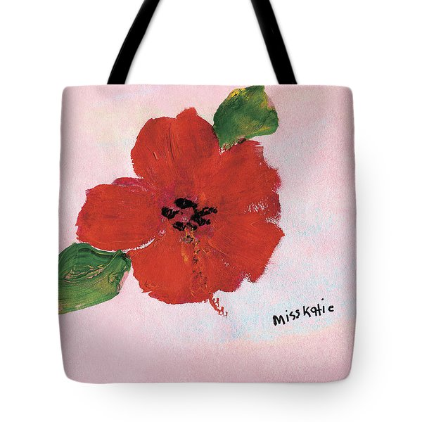 Hibiscus Tote Bag by Katie OBrien - Printscapes