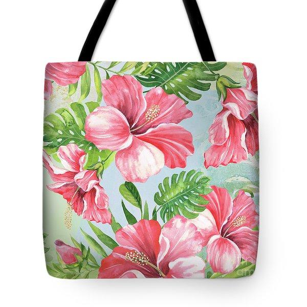 Hibiscus Paradise-jp3966 Tote Bag