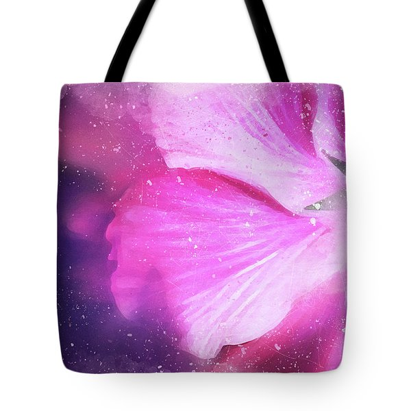Hibiscus Scatter Tote Bag