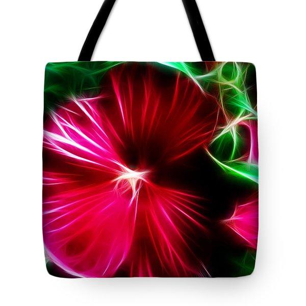 Hibiscus Spell Tote Bag