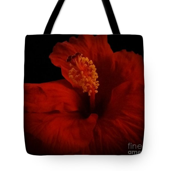 Hibiscus Tote Bag by Tammy Herrin