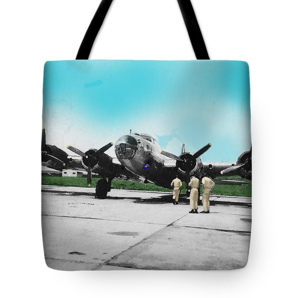 Hickam Fort Tote Bag