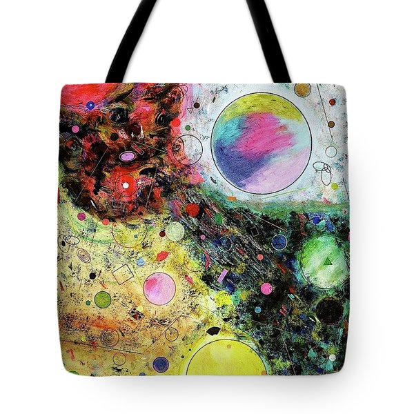 Hidden Aliens Tote Bag