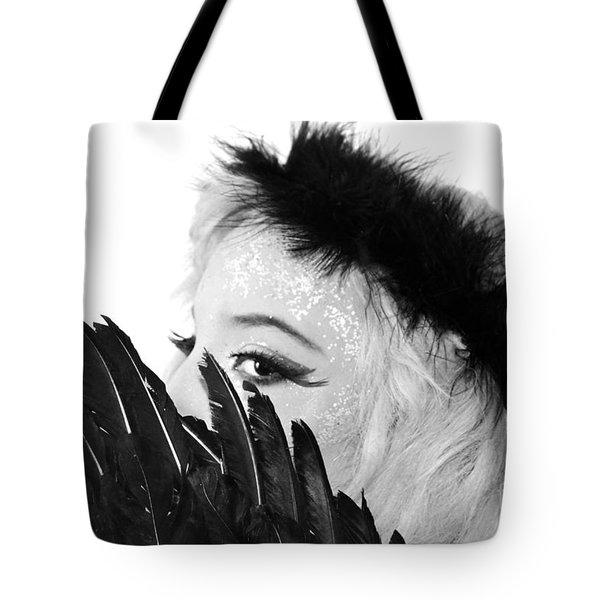 Hidden Angel Tote Bag