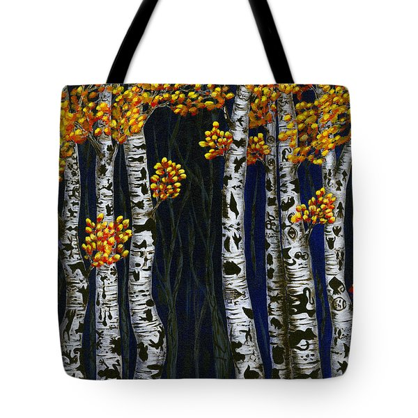 Hidden Autumn  Tote Bag by Rebecca Parker