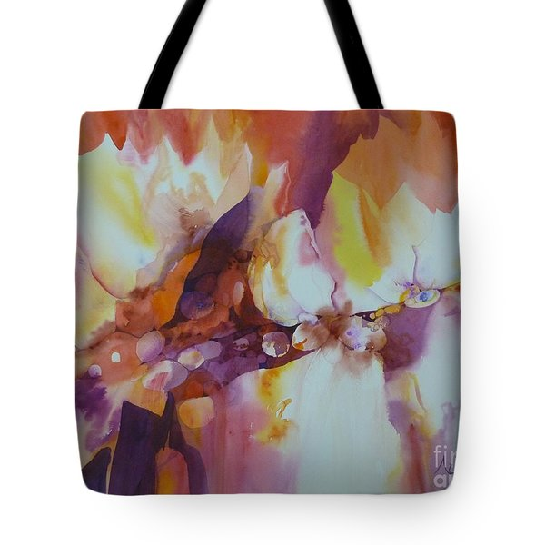 Hidden Beneath Tote Bag by Donna Acheson-Juillet