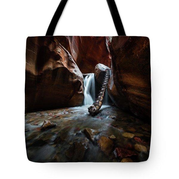 Hidden Canyon Tote Bag