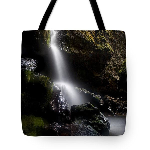 Hidden Falls Tote Bag by Mike  Dawson