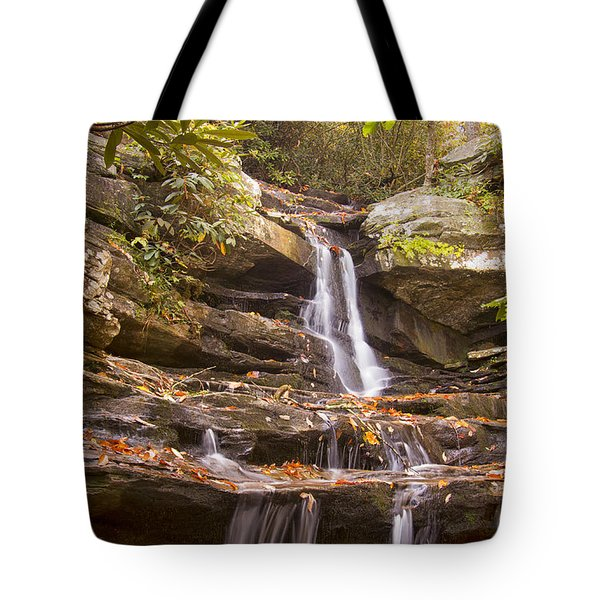 Hidden Falls Of Danbury, Nc Tote Bag