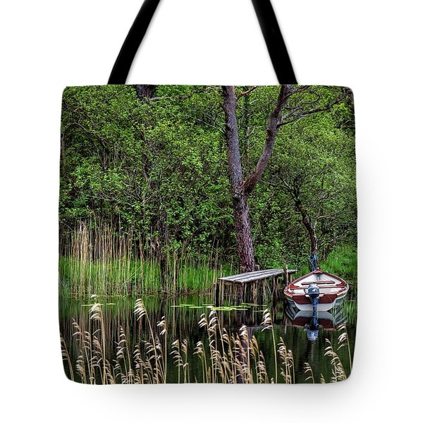 Hidden Fishing Pond Tote Bag