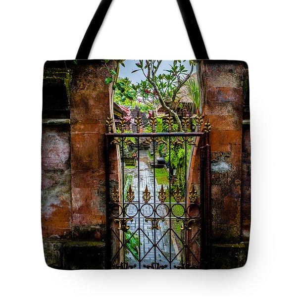 Bali Gate Tote Bag
