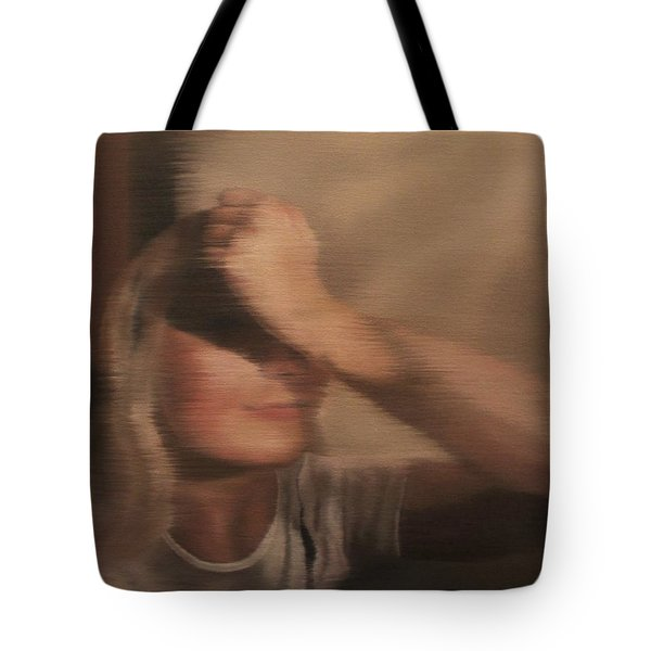 Hidden Gaze Tote Bag