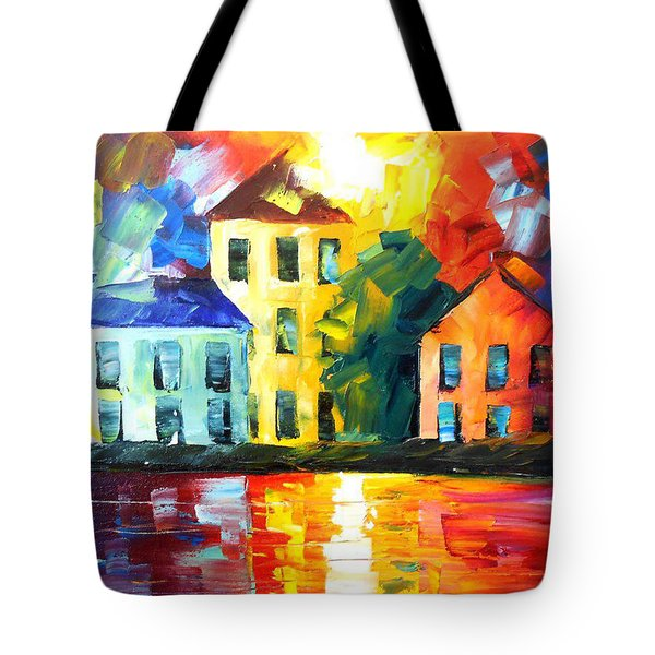 Hidden Harbor Tote Bag by Jessilyn Park