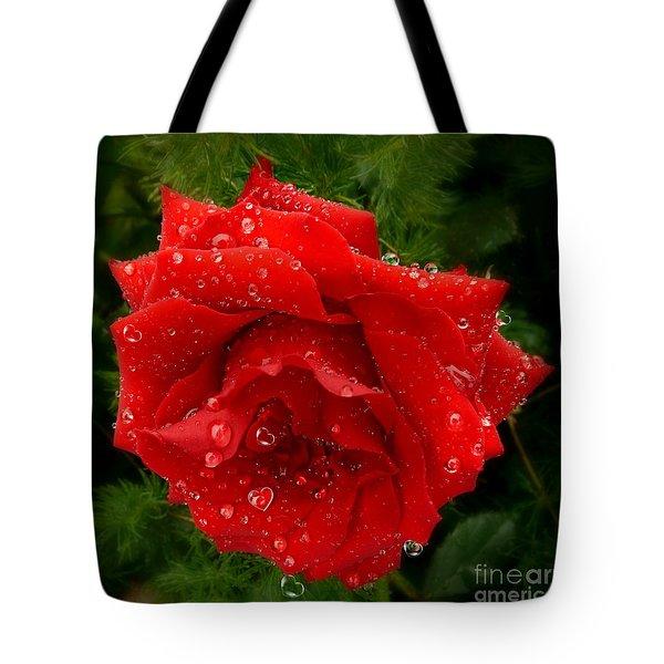 Hidden Hearts Tote Bag