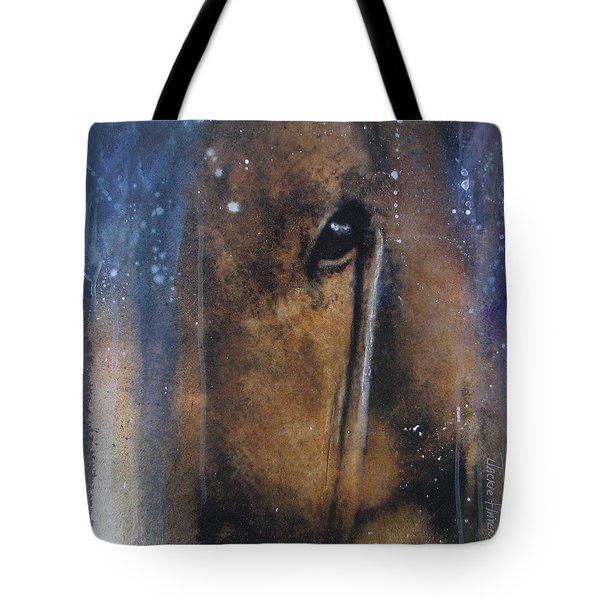 Hidden Horse Tote Bag