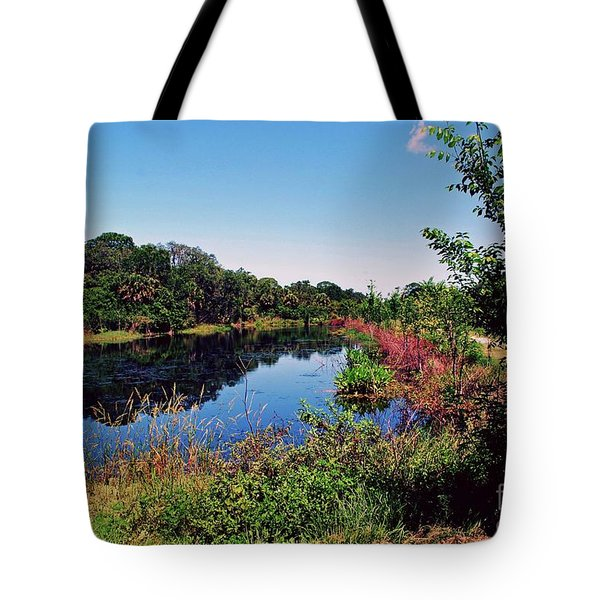 Tote Bag featuring the photograph Hidden Lake by Gary Wonning