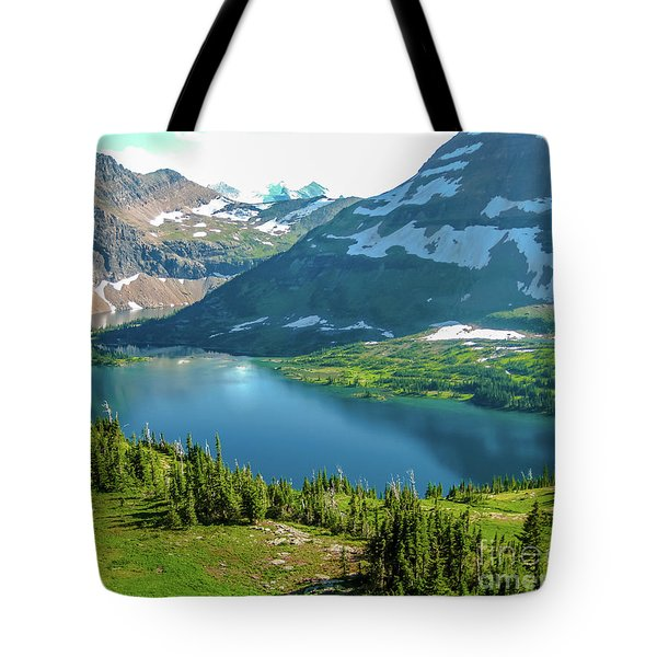 Tote Bag featuring the photograph Hidden Lake Glacier National Park by Benny Marty
