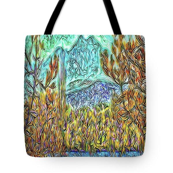 Hidden Lake Tote Bag