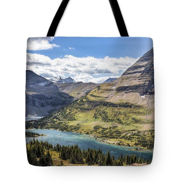 Hidden Lake Overlook Tote Bag