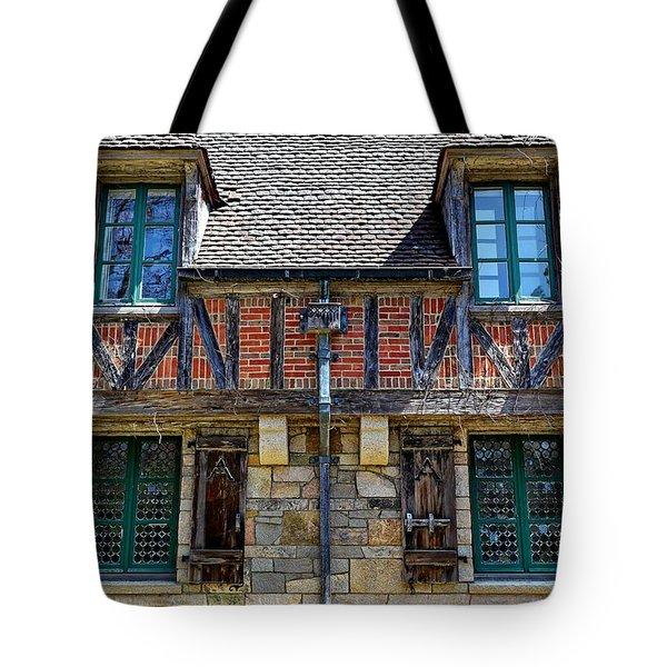 Hidden Lodge - Acadia National Park Tote Bag