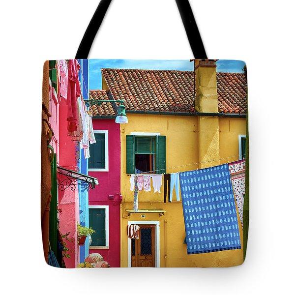 Hidden Magical Alley Tote Bag