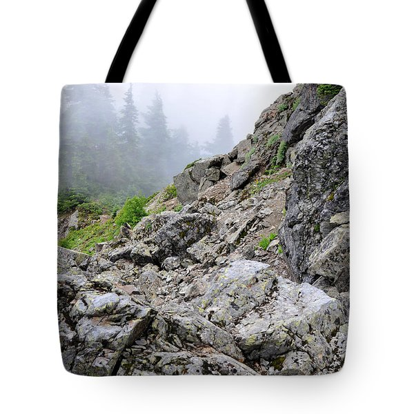 Hidden Marmot Tote Bag by Rebecca Parker