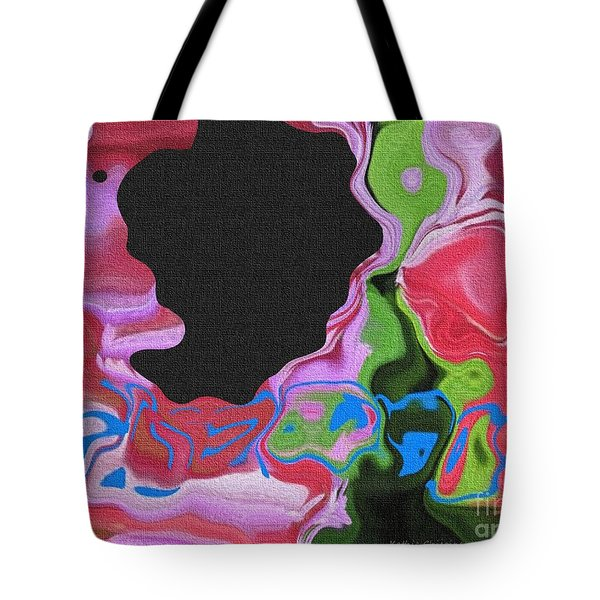 Tote Bag featuring the photograph Hidden Meanings by Kathie Chicoine