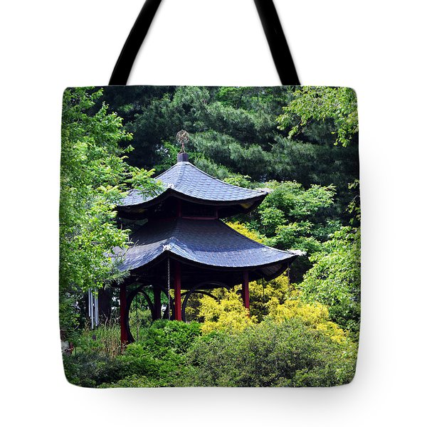 Hidden Pagoda Tote Bag