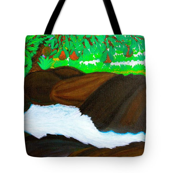Hidden Paradise Tote Bag by Lorna Maza