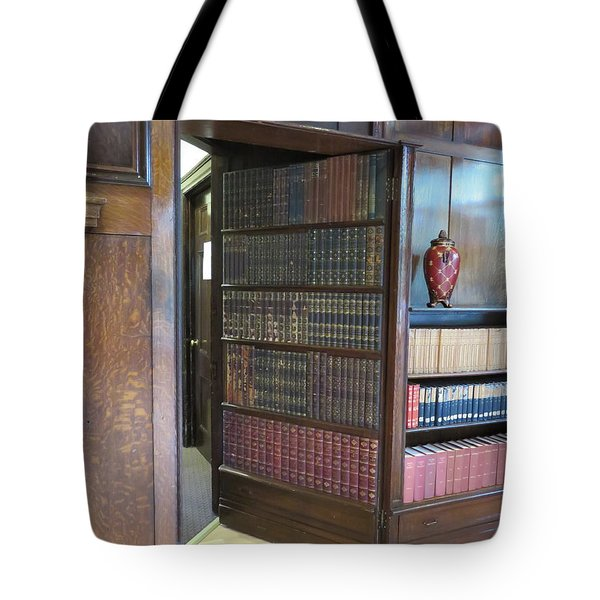 Tote Bag featuring the photograph Hidden Passages by Robin Regan