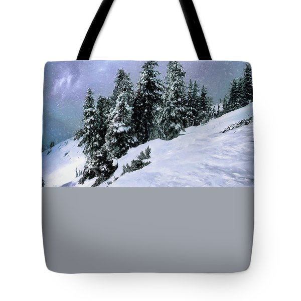 Hidden Peak Tote Bag by Jim Hill