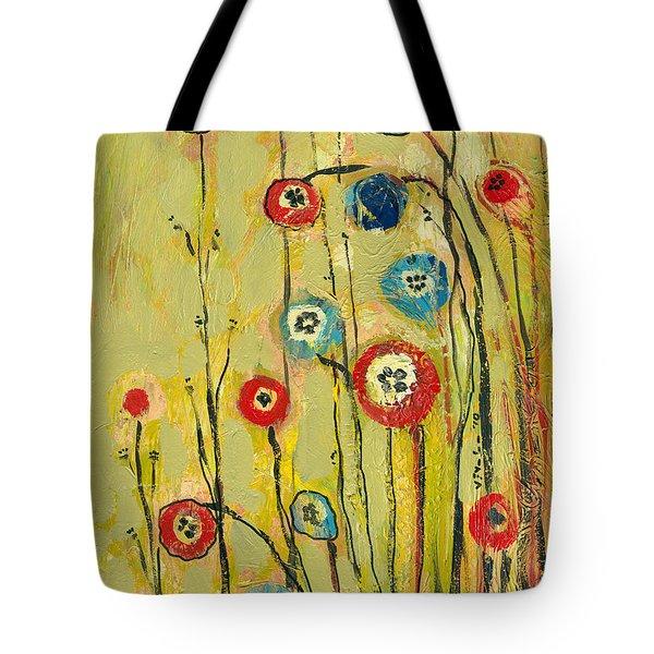 Hidden Poppies Tote Bag