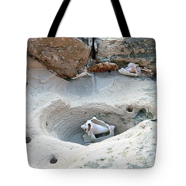 Hidden Shells On Bimini Beach Tote Bag