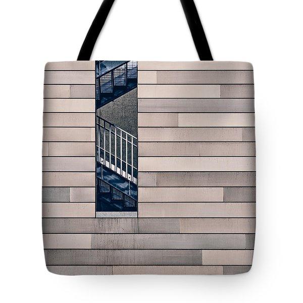 Hidden Stairway Tote Bag