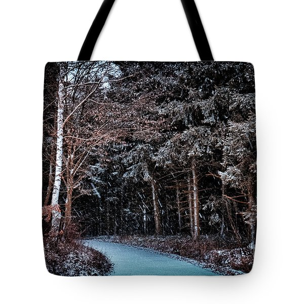 Hidden Steps At Dawn Tote Bag