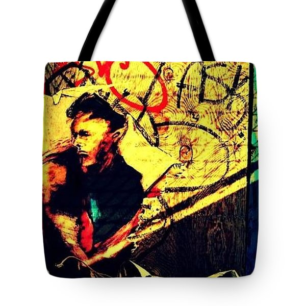 Hidden Stranger Tote Bag