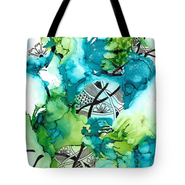 Hidden Treasure Tote Bag by Jan Steinle