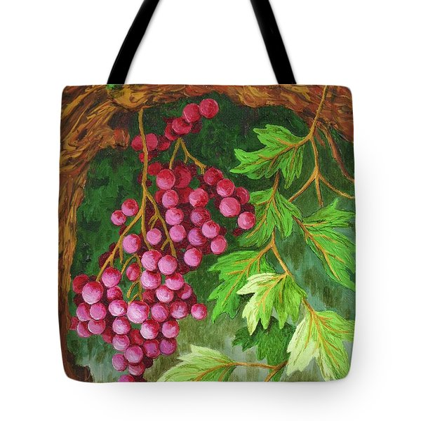 Tote Bag featuring the painting Hidden Treasure by Katherine Young-Beck