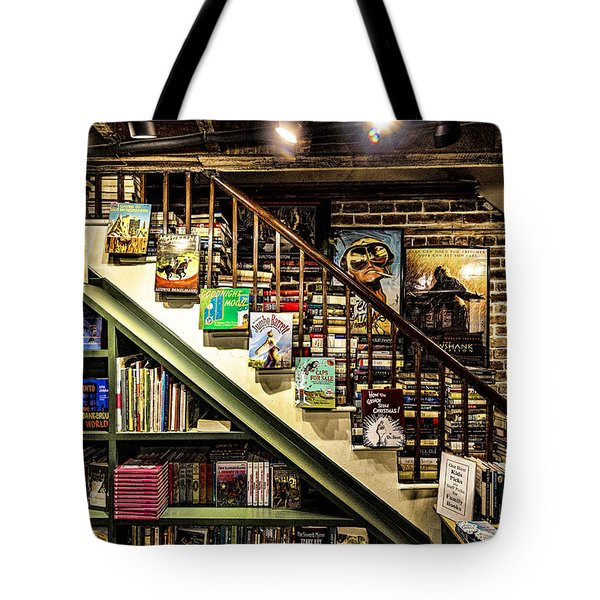 Tote Bag featuring the photograph Hidden Treasures by Anthony Baatz